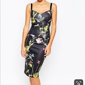 Ted Baker London Dresses - Ted Baker London Lisa hummingbird midi dress